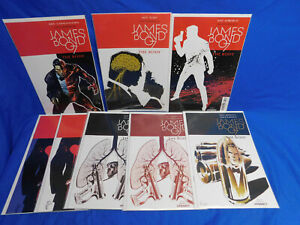 James Bond The Body #1 2 3 4 5 6 DYNAMITE 2018 Complete Series + Variants
