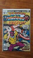 Captain America 211 Dread Nazi X Marvel High Grade Comic Book RM9-64