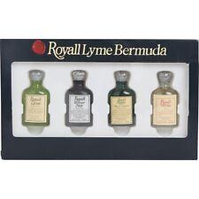 ROYALL FRAGRANCE 4pc Mini Set * Lyme/Vetiver Noir/Rugby/Muske  4x10 ml each * NI