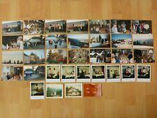Konvolut Sammlung 34x altes Foto alte Fotos Menschen Reise Ausflug Bus Brückner.