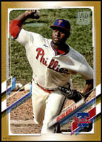 Hector Neris 2021 Topps 5x7 Gold #171 /10 Phillies