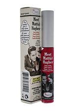 theBalm Meet Matte Hughes Long Lasting Liquid Lipstick Sentimental