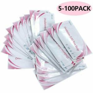 5-100 PCS Ovulation (LH)Test Strips Fertility Early Predictor Home Urine Test UK