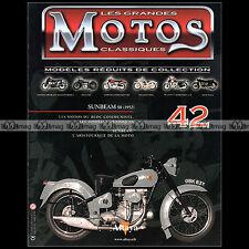 MOTOS CLASSIQUES N°42 ★ SUNBEAM 500 S8 (1952) ★
