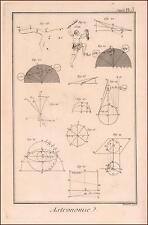 ASTRONOMY, Geometry of Planets, Constellations, Diberot & D'Alemberts, 1777
