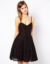 French Connection Glitter Whisper Sparkle party dress 10 BNWT £180