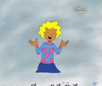DOUG FUNNIE Original Production Cel Cell Animation Art Nickelodeon 1990s Patti