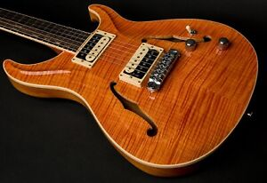 NEW ROGER GIFFIN STANDARD HOLLOWBODY UPGRADE FLAME CURL TOP BEAUTIFUL