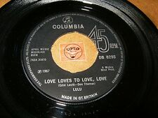 LULU - LOVE LOVES TO LOVE LOVE - YOU AND I  / LISTEN - MOD GIRL