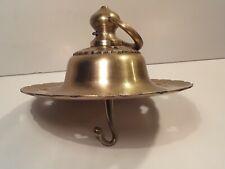 Antique Brass Decorative Hook Vintage Americana