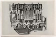 12/1019 SAMMELBILD MAN DIESEL MOTOR - LKW