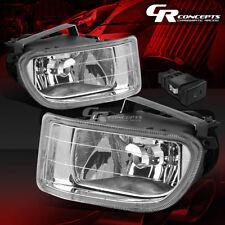 CLEAR LENS BUMPER DRIVING FOG LIGHT LAMP+SWITCH LHRH FOR 99-04 HONDA ODYSSEY RL1