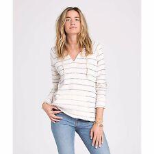 2015 NWOT WOMENS BILLABONG SUNDREAM PULLOVER HOODIE $50 M white cap sweater