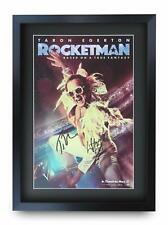 Rocket Man Signed Pre Printed Autograph Poster Gift For a Taron Egerton Fan