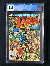 X-Men Annual #5 CGC 9.4 (1981) - Fantastic Four appearance