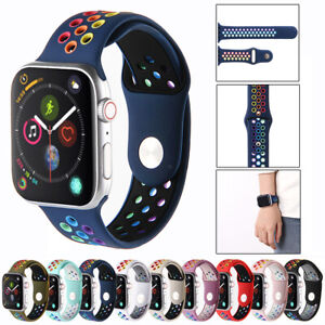 Apple Watch Strap Silicone Band For iWatch Series 6 SE 5 4 3 38/40/42/44mm Sport