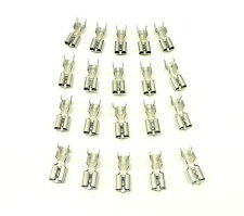 PER-074-20 Terminals For Relay Connector Housing 10 12 Gauge Wire Clip In Spades
