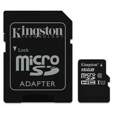 KINGSTON MICRO SDHC C10 16GB 16G 16 G CLASS 10 UHS-I U1 MICRO SD HC MEMORY CARD