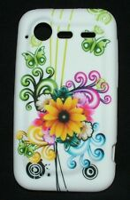 Custodia COVER per HTC Incredible S 710e fantastico design fiori NUOVO