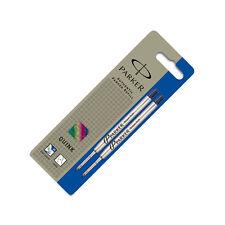 Parker Ballpoint Refill Medium Blue - 2 Pack