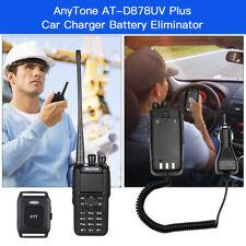 AnyTone AT-D878UV PLUS 7W GPS Two Way Radio - Black