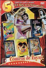 COMICAS DE ZAYAS [5 PELICULAS] 3 MEXICANOS ARDIENTES , EL SEXO ME DIVIERTE DVD