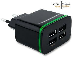 Travel Plug Adapter European Outlet International Universal Power US USA to EU