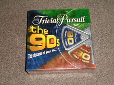 TRIVIAL PURSUIT - THE 90's EDITION - NEW & FACTORY SEALED (FREE UK P&P)