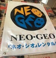 repro Neo Geo Rental Store BANNER