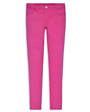 Levis Strauss & Co. Girl's Regular Fit Knit Jean, Pink.