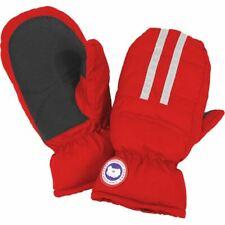Canada Goose Kids Down Mitts Red Waterproof Windproof Gloves Little Hands