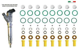 Diesel Fuel Injector Repair Kit for 2004 - 2005 Chevy/GMC Duramax 6.6L LLY 8 SET