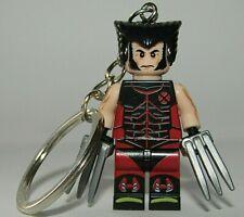 Wolverine Keychain -  X-Men Key Ring