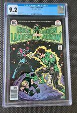 GREEN LANTERN 91 CGC 9.2 Bronze Age 10-11/76 DC Comics Green Arrow Sinestro