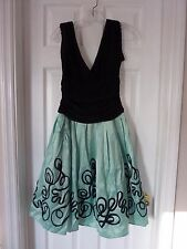 S.L. Fashions  Women's Size 8 Pleated Dress Party Special Occasion