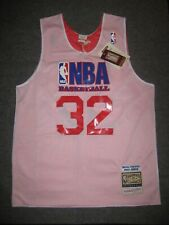 MAGIC JOHNSON NBA Authentic Practice All-Star Mitchell & Ness Rev Jersey MEDIUM