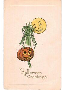 Halloween Gibson JOL & Moon 1910