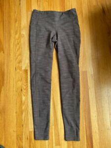 Athleta Chaturanga Brown Legging Pants Athletic Yoga Running Womens Size XS