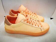 Adidas orange casual trainers size 6