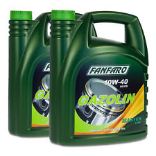10 (2x5) Liter FANFARO 10W-40 GAZOLIN Motoröl API SG/CD
