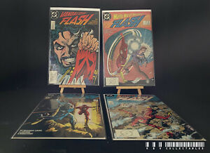 DC Flash Issues 14-17 (1988) Bagged & Boarded