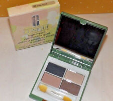 Clinique HIGH IMPACT Eye Shadow QUAD ~ 02 COOL SATIN ~ New in Box RARE