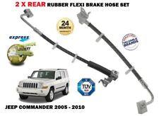 für Jeep Commander 2005- > NEU 2x Hinten Links + rechts Flex Gummi Bremsschlauch
