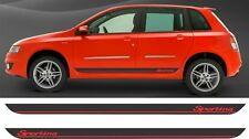 Fiat Stilo Sporting side stripes decals stickers graphics