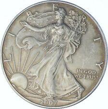 Better Date 2007 American Silver Eagle 1 Troy Oz .999 Fine Silver *071