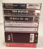 Lot of 7 Beatles Cassettes- Live At The BBC, Anthology, ETC- 4 NEW - 2 Preowned