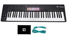 Novation LAUNCHKEY 61 MK2 MK11 61-Key USB/MIDI Controller Keyboard w/16 Pads
