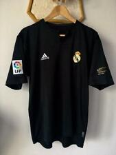 REAL MADRID 2001 2002 CENTENARY AWAY BLACK FOOTBALL SOCCER SHIRT JERSEY ADIDAS