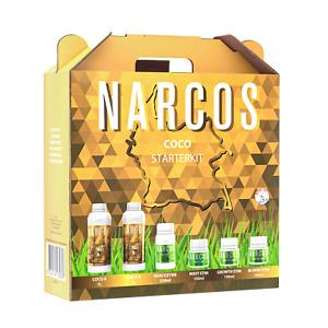 Narcos Coco Dünger Starter Kit Set Grow Indoor mit Schema