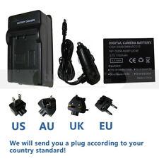 Battery +Charger For Panasonic Lumix DMC-FX8 DMC-FX9 DMC-FX10 DMC-FX12 DMC-FX12K